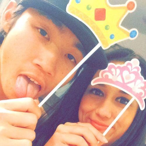 Every king needs a queen. Palu Prince and Palu Princess lmao