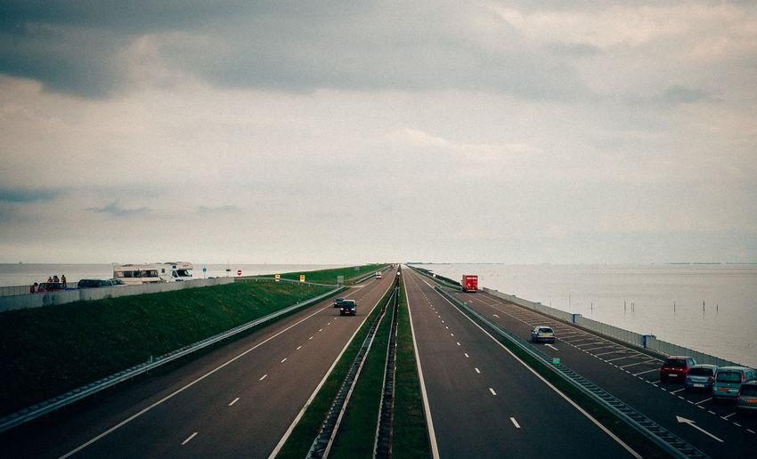 Roadtrip to Afsluitdijk Holland Neatherlands Roadtrip Enjoying Life Taking Photos Water