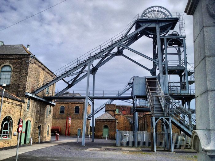 Sky Outdoors City Architecture No People Day Landscape Northumberland Landscape_Collection Architecture History History Through The Lens  Northumberland National Park England Wanderlust Coal Mining History Northumberland_uk Metal Industry