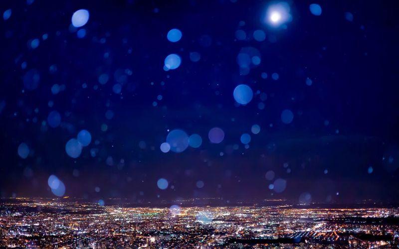 Sapporo Hokkaido Japan Sapporo,Hokkaido,Japan Snow Moon Night Night Lights Night Photography Night View Light Lights