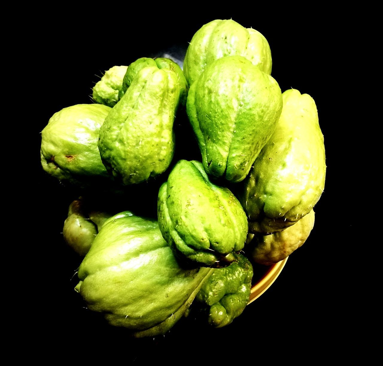 black background, studio shot, food, green color, vegetable, food and drink, healthy eating, freshness, no people, close-up, brussels sprout, day