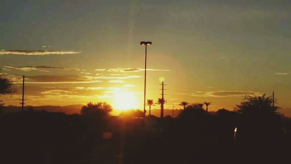 Another morning view while having my coffee, from Queen Creek, Arizona