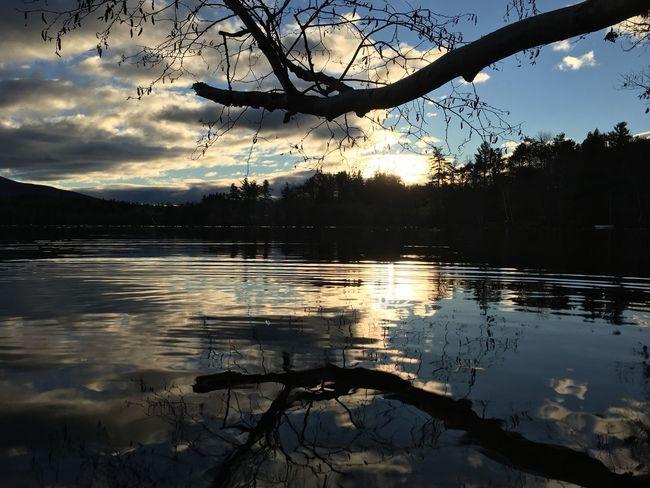 Sunset Hour Nov 2016 on Dublin Lake, Dublin New Hampshire