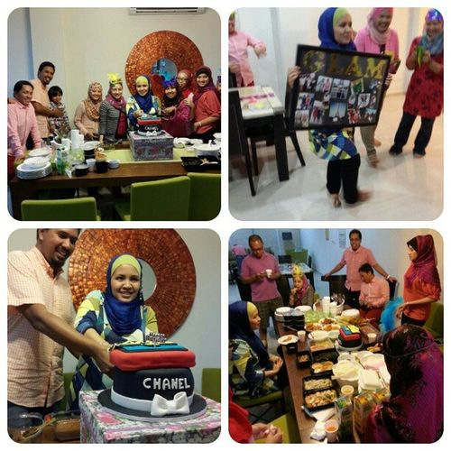 Alhamdulillah everything went very well. Celebrating @hanis birthday at her crib with Hanishaiziproteges . We are like brothers & sisters. We love our mentor so much, this is something special for you hanis. Hehe.. Good Night! Hanishaizisweet19 Hanishaizi Hanishaiziprotege celebration birthday surprise linazahrahdotcom