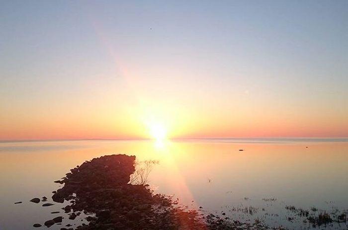 Star burst horizon Reimerpics Sunrise Landscape Lake Georgianbay Beach Photo