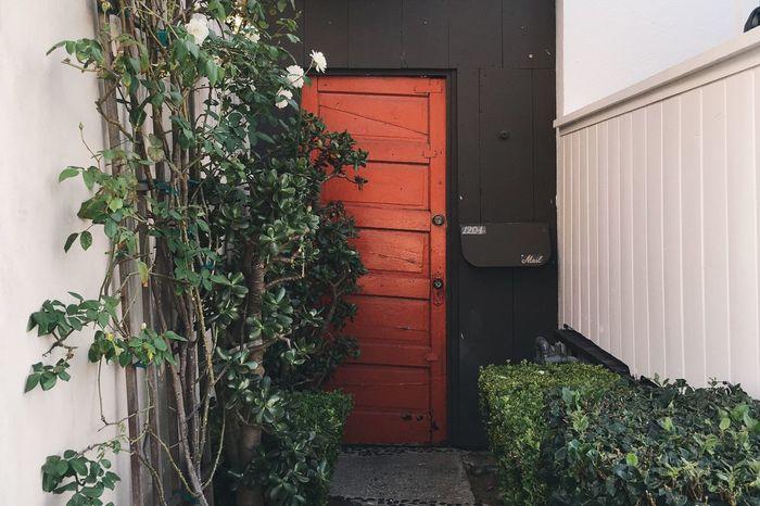 red door. Abbot Kinney Los Ángeles La California Door Red Door VSCO Vscocam