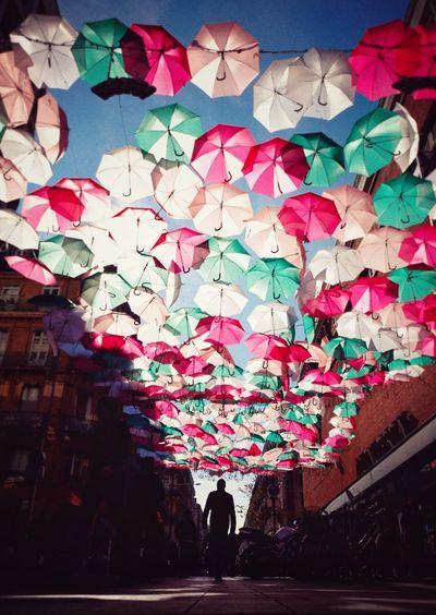 Umbrella Sky in