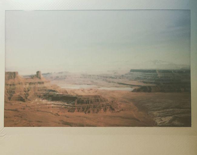 Dead Horse Point Utah Polaroid