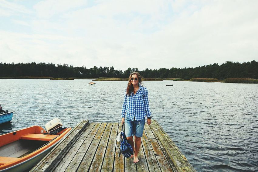 Sweden Landscape Leisure Activity Steg Sea Eastsea Boats Nature Nordic Natural Style Eco Style Fashion