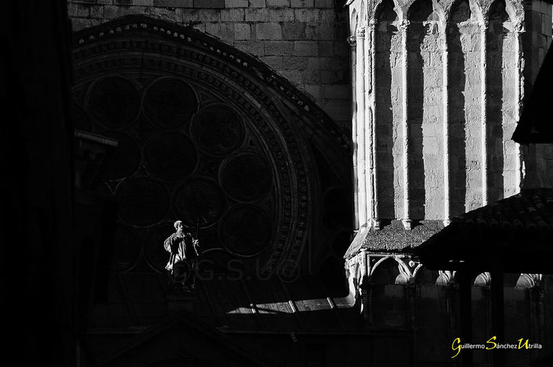 The Week On EyeEm Toledo Spain Cathedral Sony A57 Religious Art Sunlight Ancient Architecture Amanecer Blackandwhitephotography Black&white Black And White Collection  Statues/sculptures