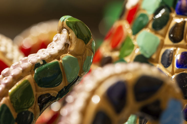 Close-up Selective Focus Multi Colored Variation Ornate Personal Accessory Art And Craft