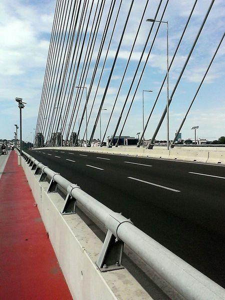 Bridge Bridges Architecture Bridgesaroundtheworld MostnaAdi Belgrade Serbia Beautiful Summer Bike