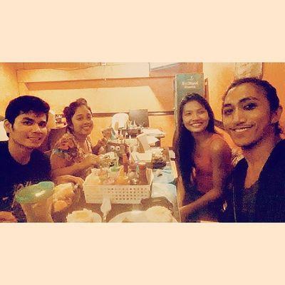 AngNawalangKapatid post-show dinner at Hassan ;)
