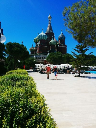 Architecture Tree Sky Turkey Antalya Kremlin Palace