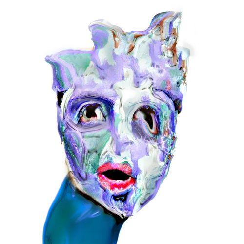 ^|_!€N Abstract Freestyle Modern Weird Graphic Digital Art Alien Shape Sculpture Art Artist Tender