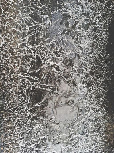 Ice Nature Abstract