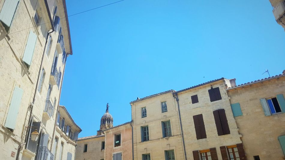 France Uzés French Architecture Architecture_collection Travel Photography Village Life Pyrenees Blue Sky
