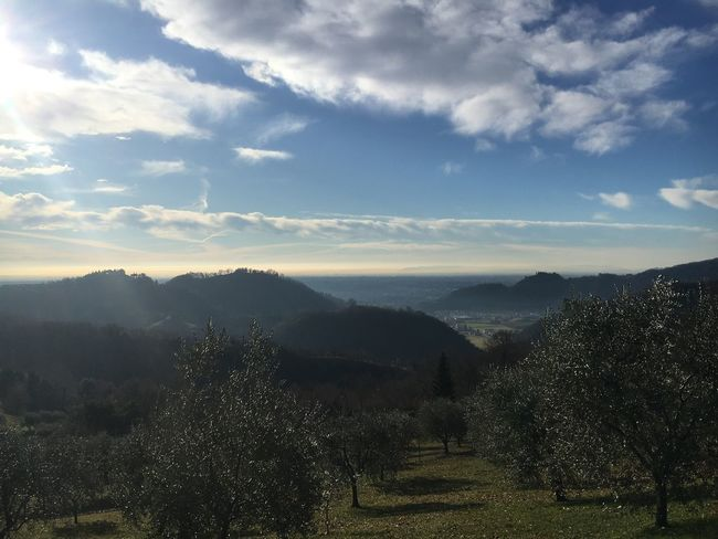 Ravano panorama. 3 january 2018 Medievalcity Castle Hills Marostica Nature Beauty In Nature Landscape Scenics Tranquility Tranquil Scene Cloud - Sky