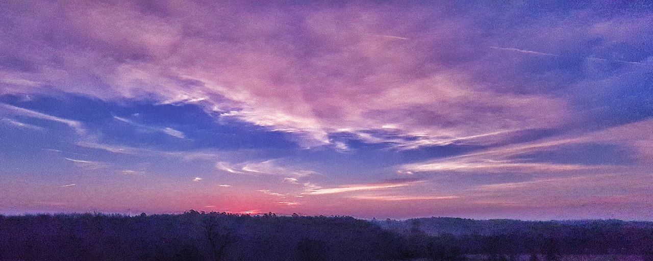 Arkansas Sunrise View From My Front Porch ☺ Early Morning Sky Art A Touch Of Fog