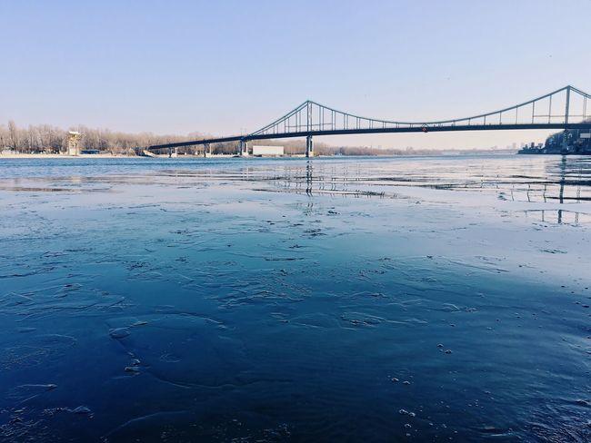 River Ice Bridge