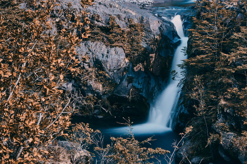 Turbio river... EyeEmNewHere Beauty In Nature Blurred Motion Day Flowing Flowing Water Forest Formation Land Long Exposure Motion Nature No People Outdoors Power In Nature River Rock Rock - Object Scenics Scenics - Nature Solid Travel Destinations Tree Water Waterfall