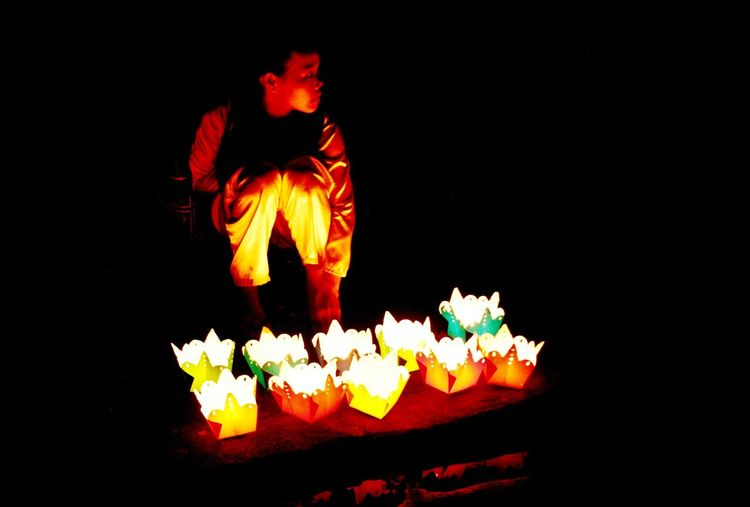 Fire Flame Black Background People Night Burning Black Background Heat - Temperature Close-up Celebration Vietnam Hoi An Lanterns Lanterns In The Dark Lantern Photos Official EyeEm © Boy Orange Color EyeEm Best Shots Illuminated EyeEmNewHere The Week On EyeEm