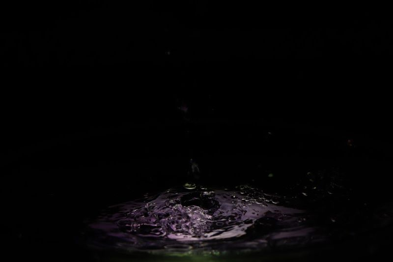 Watergames Black Background Drop Motion Splashing Studio Shot Purple No People Water Freshness Liquid Close-up Nature High-speed Photography Drink Purity Splashing Droplet Beauty In Nature Fragility Indoors  Day
