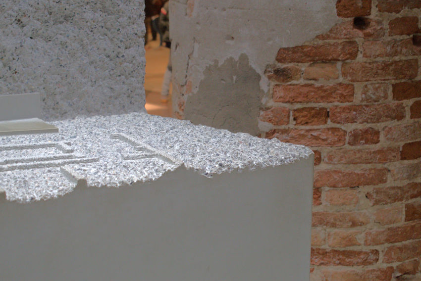 Abstract Architecture Architecture Art Biennale 2016 Brick Wall Building Exterior Built Structure Close-up Color Contemporary Art Day No People Outdoors Street Urban Water White Color Whitewashed