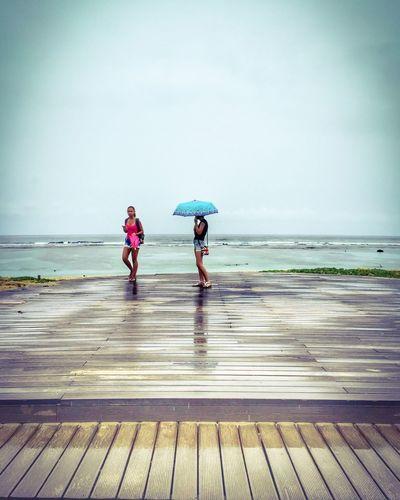 Ocean LaReunion Stpierre Beach Rain Tropical