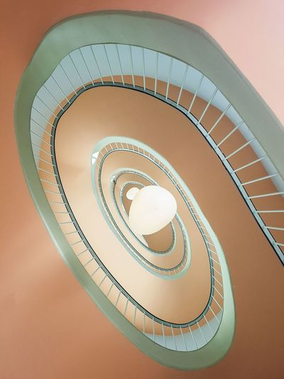 The Week on EyeEm Architecture Architecture_collection Spiral Staircase Spiral Staircase Steps And Staircases Spiral Staircase Architecture Close-up Spiral Stairs Wall Lamp Stairs Steps Full Frame