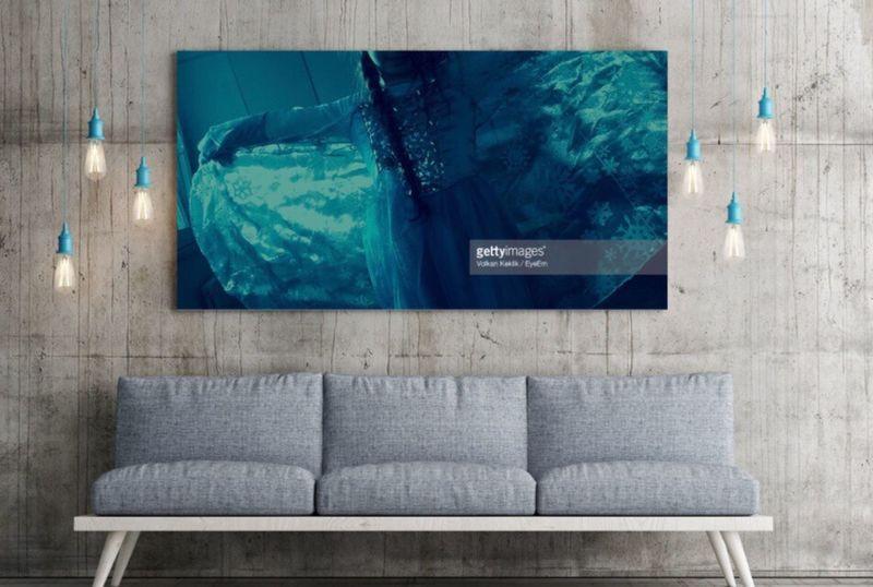Interior Design Wall Art Couch Luxury