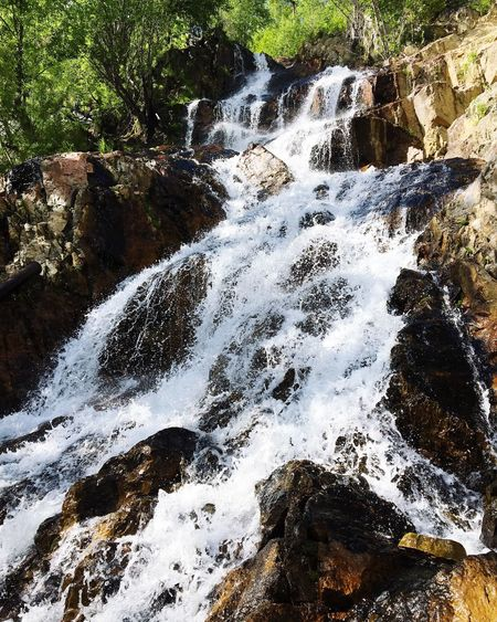 Water Nature Beauty In Nature Day Waterfall