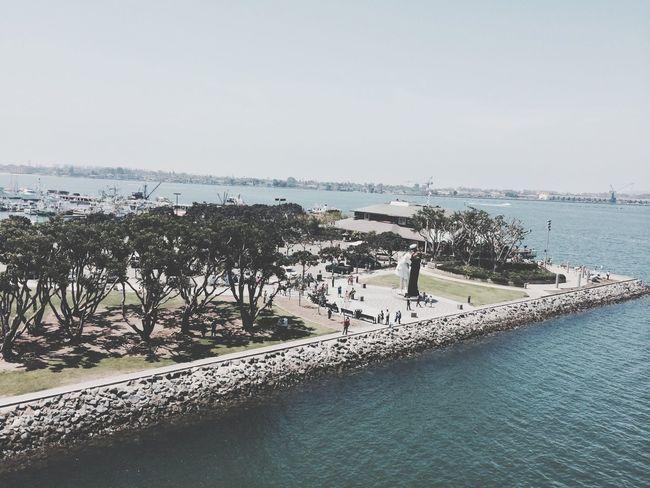 San Diego Seaport Village USS Midway