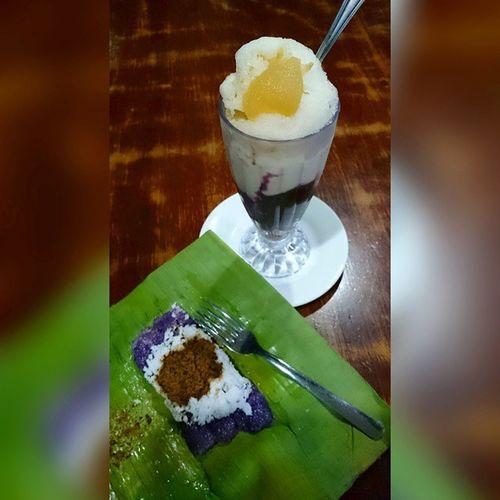 Pagsanjan's best || Via Crucis 2015 . . . Lent2015 Viacrucis Church Heritage foodporn foodgasm pinoyfood themanansala