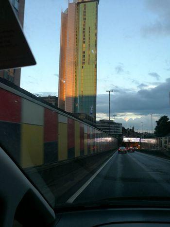 Architecture Birmingham UK Sun Light Birmingham City Centre Taken With The Huawei P9