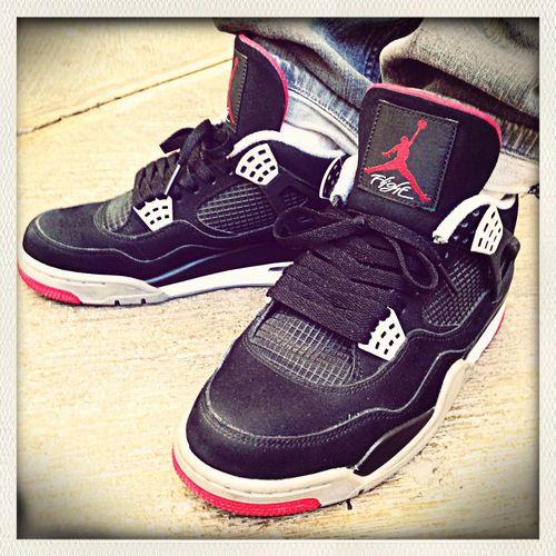 AJ IV bred Sneakers Nike Air Jordan Bred 4