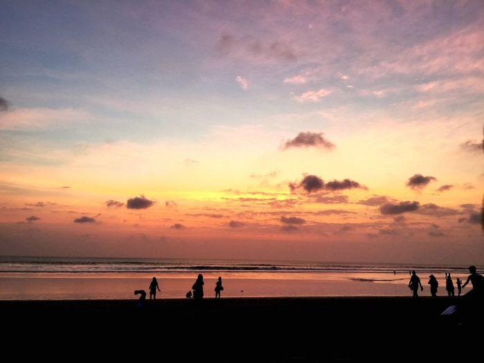 Bali Sky Sunset Seminyak