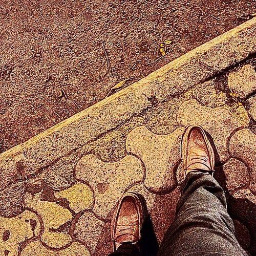The Nightwalker!!! Instaclick Instagramed Lifelessons Mirrormirror Getaway  Fun Selfie Sometimesifeel Lost Ralphlaurel Shoes Leather Nightlife Camera360 Footpath Road Navimumbai