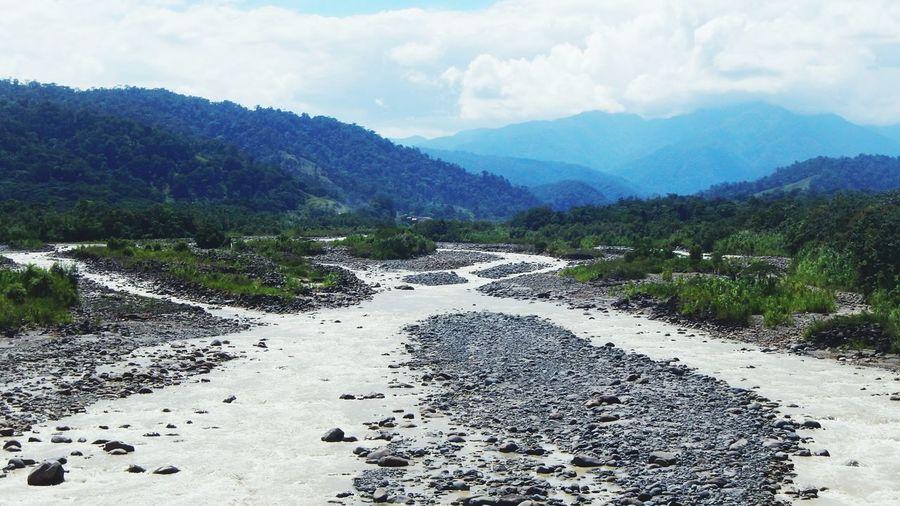 El Rio Sucio... Naturaleza Sky Collection Blue Sky Mountains River Costa Rica