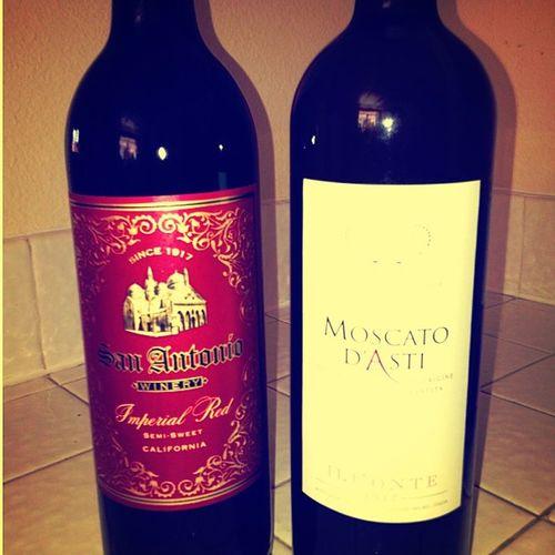 Finally got me some Wine Boom Moscato Sweetred yummyboozenightcap