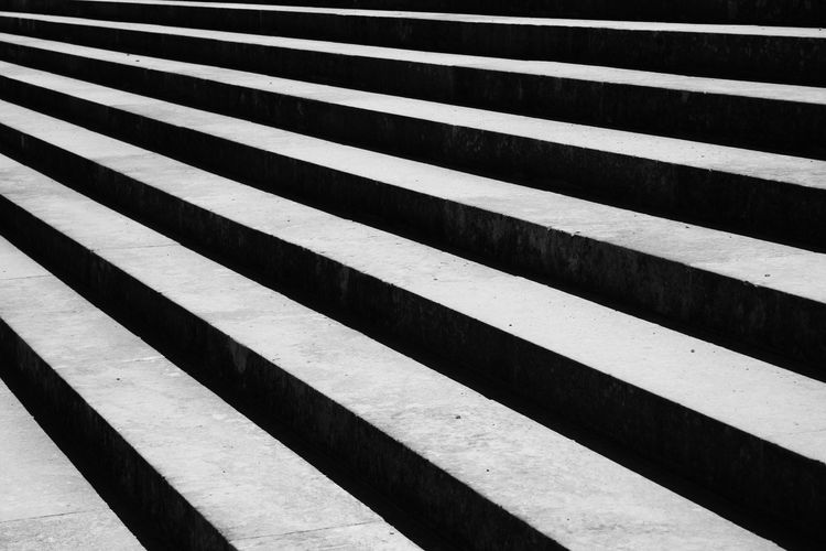 Architecture Stairs Versailles Black Color Blackandwhite No People Outdoors Pattern Staircase Steps And Staircases