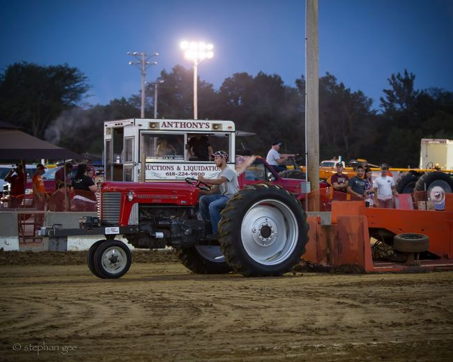 Tractor Pull Country Life Competition Power Tractor Mud Outdoor Event