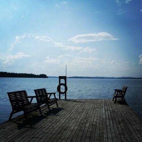 Kuutostie Parikkala Lake Wharf