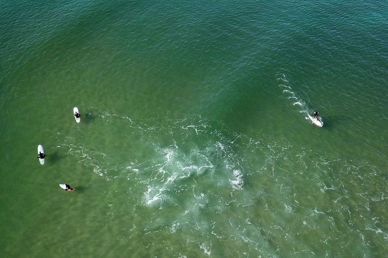 Aerial Photography Australia DJI Mavic Pro Drone  Aerial Aerial Shot Aerial View Beach Board Surfing High Angle View Water Sea Day Nature Beauty In Nature Tranquility Aerial View Scenics - Nature Sport Unrecognizable Person Waterfront Outdoors Transportation Aquatic Sport Group Of People Sunlight Nautical Vessel Tranquil Scene Turquoise Colored