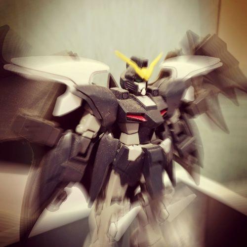 Gundam Deathscythe Endless Waltz Mecha Robot D-hell Custom