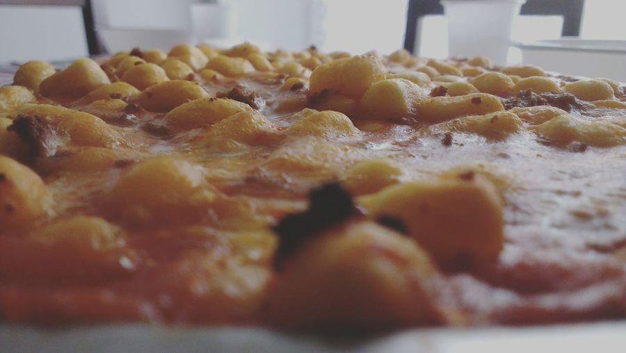 So hungry... Hi! Food Porn Food Photography Gnocchihomemade Mozzarellacheese Jummy Gnam Gnam Buon Appetito! Italian Food