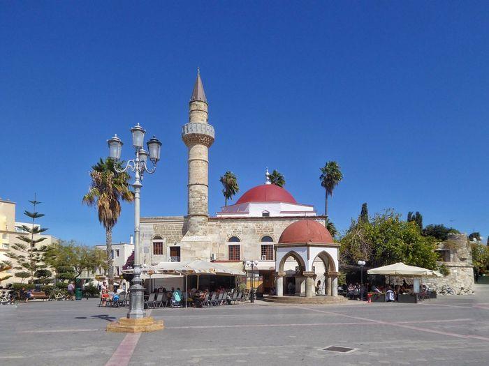 Kos GREECE ♥♥ Greece Mosque Deftedar Mosque Kos Town Architecture Architecture_collection