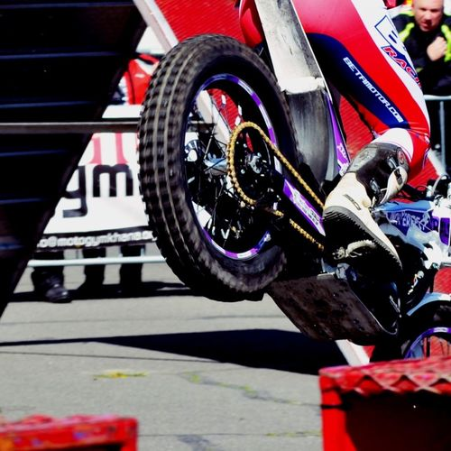 Motorbike Stunt Bike4life Check This Out Taking Photos Air Ambulance  Charity Event Fun Red Wheel