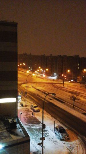 my view snow 2015 nyc Check Up First Eyeem Photo