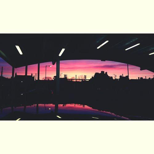 ? Gorgeous Sunset Scotland First Eyeem Photo